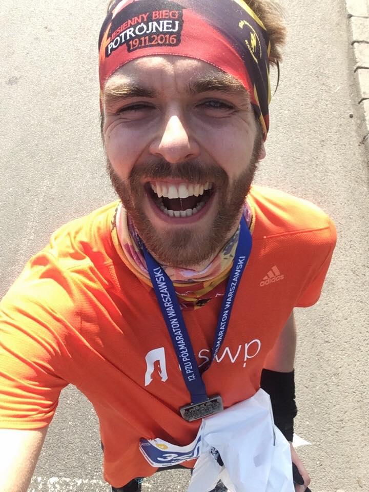 michał ciesielski biegacz amator